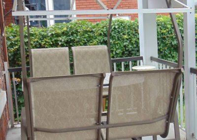 Balcon balancoire - La Maison d'Elohim Résidence St-Hyacinthe